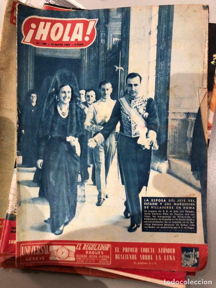 Coleccionismo de Revista Hola: Lote de 16 revistas Hola años 50-60- ver las Fotos - Foto 7 - 183684792