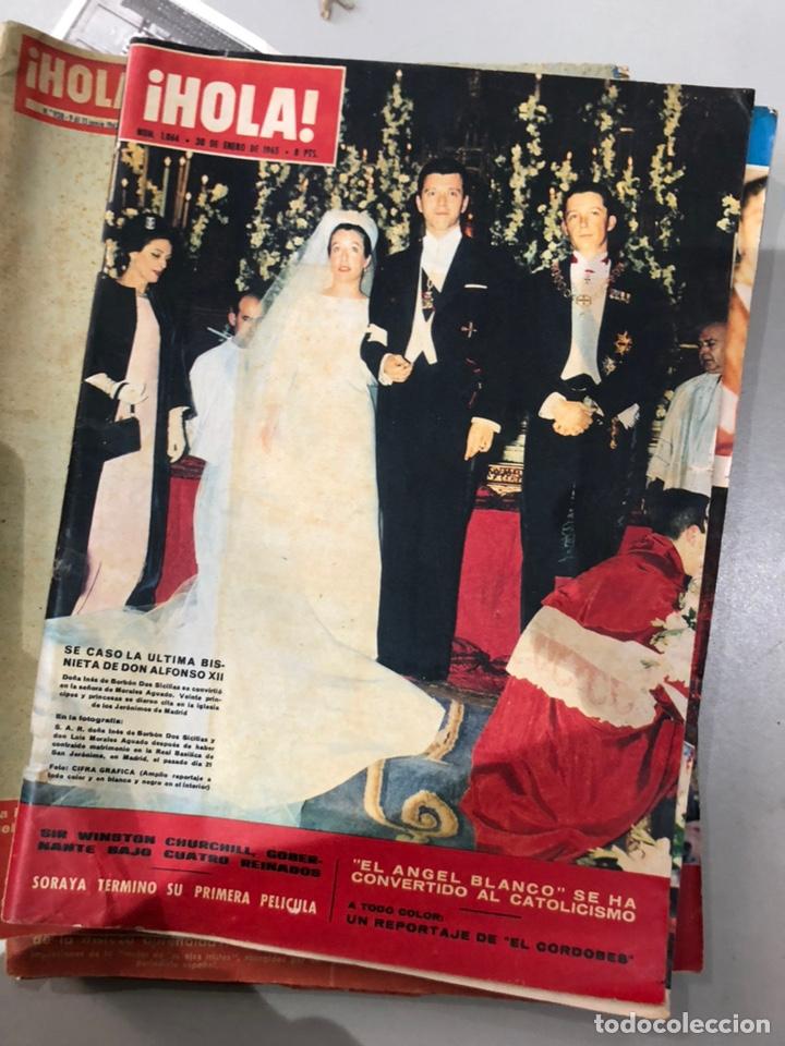 Coleccionismo de Revista Hola: Lote de 16 revistas Hola años 50-60- ver las Fotos - Foto 8 - 183684792