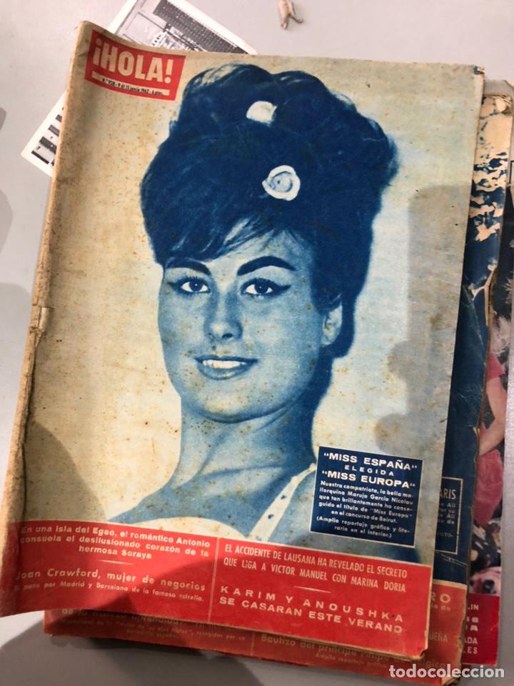 Coleccionismo de Revista Hola: Lote de 16 revistas Hola años 50-60- ver las Fotos - Foto 9 - 183684792