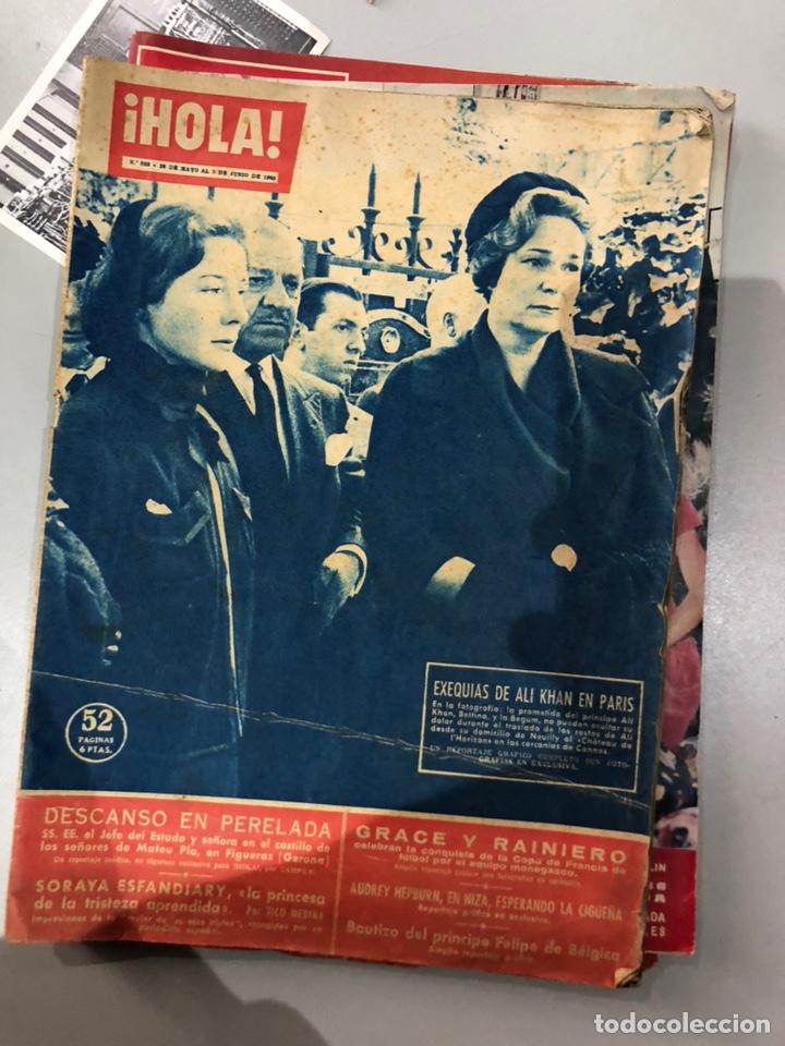 Coleccionismo de Revista Hola: Lote de 16 revistas Hola años 50-60- ver las Fotos - Foto 10 - 183684792