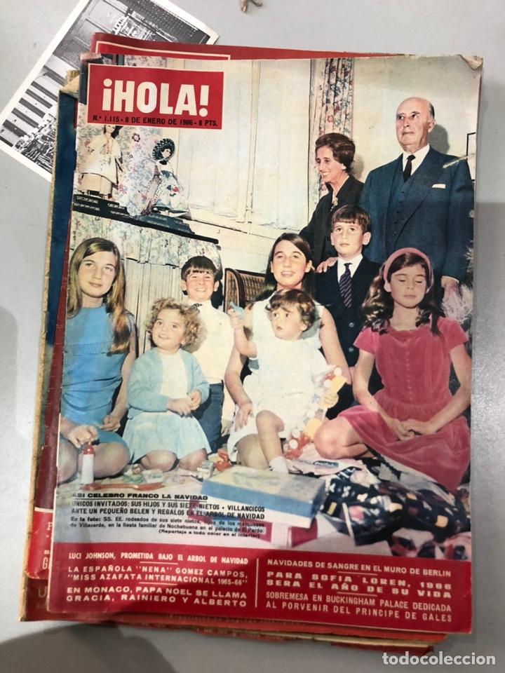 Coleccionismo de Revista Hola: Lote de 16 revistas Hola años 50-60- ver las Fotos - Foto 11 - 183684792