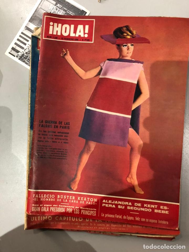 Coleccionismo de Revista Hola: Lote de 16 revistas Hola años 50-60- ver las Fotos - Foto 12 - 183684792