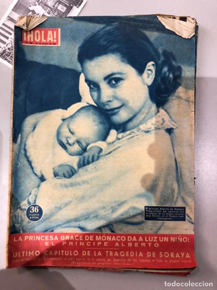Coleccionismo de Revista Hola: Lote de 16 revistas Hola años 50-60- ver las Fotos - Foto 13 - 183684792