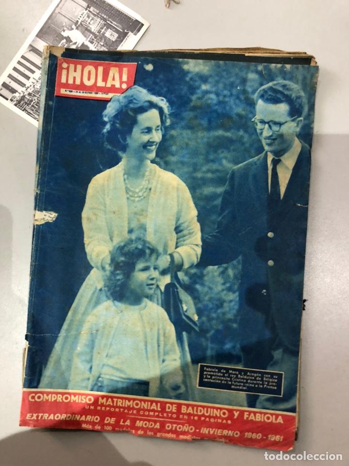 Coleccionismo de Revista Hola: Lote de 16 revistas Hola años 50-60- ver las Fotos - Foto 14 - 183684792