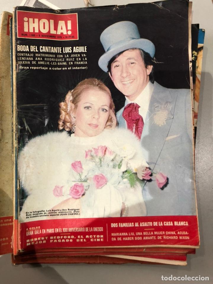Coleccionismo de Revista Hola: Lote de 16 revistas Hola años 50-60- ver las Fotos - Foto 15 - 183684792