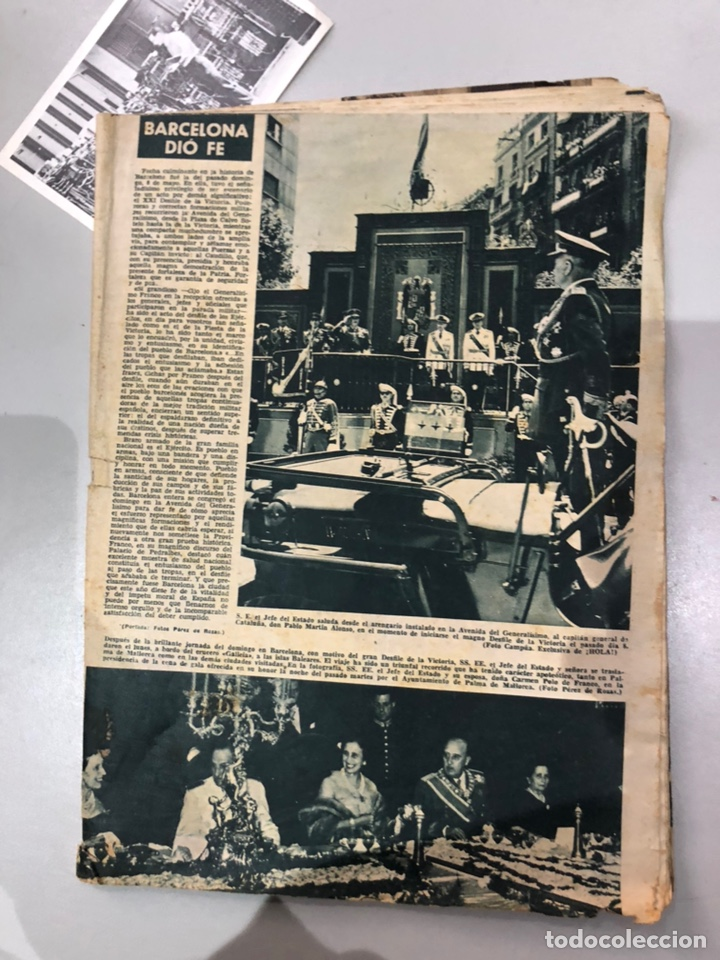 Coleccionismo de Revista Hola: Lote de 16 revistas Hola años 50-60- ver las Fotos - Foto 16 - 183684792