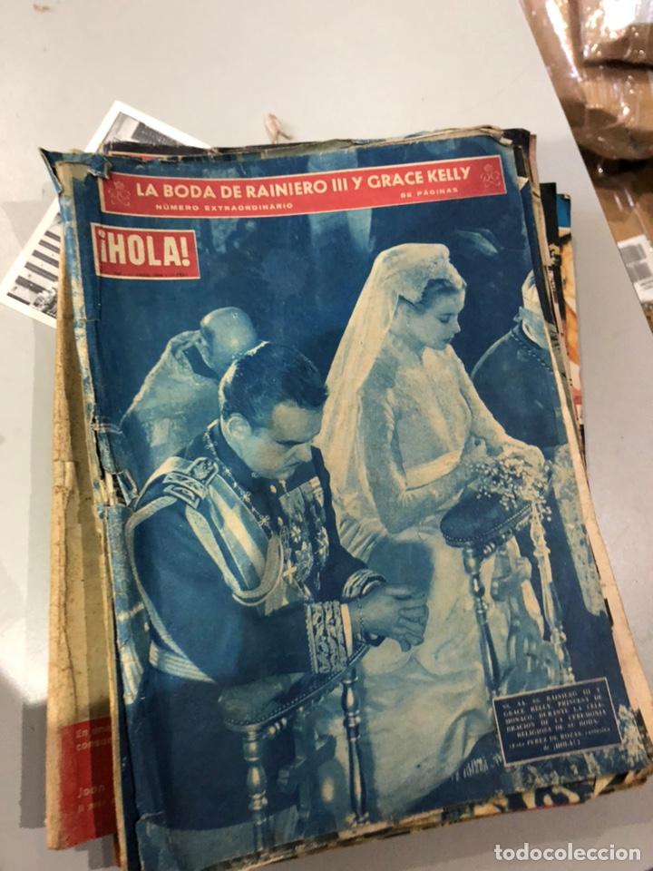 LOTE DE 16 REVISTAS HOLA AÑOS 50-60- VER LAS FOTOS (Coleccionismo - Revistas y Periódicos Modernos (a partir de 1.940) - Revista Hola)