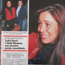 Collectionnisme de Magazine Hola: RECORTE REVISTA HOLA Nº 2371 1990 LYDIA BOSCH. Lote 183895926