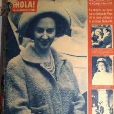 Coleccionismo de Revista Hola: REVISTA HOLA Nº924. 12 AL 18 DE MAYO DE 1962. Lote 184281841