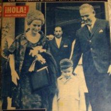 Coleccionismo de Revista Hola: REVISTA HOLA Nº918. 31 DE MARZO AL 6 DE ABRIL DE 1962. Lote 184282093