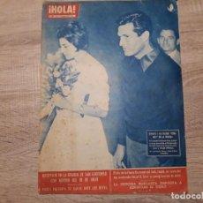 Coleccionismo de Revista Hola: HOLA 883, AGOSTO 1961.SORAYA,PAOLA, MARGARITA,MARLENE DIETRICH ETC. Lote 184637355