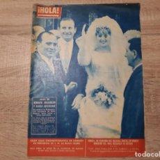 Coleccionismo de Revista Hola: HOLA 915, MARZO 1962,BODA DE MUSSOLINI SOFÍA LOREN , ETC... Lote 184637792