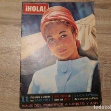 Coleccionismo de Revista Hola: HOLA 946, OCTUBRE 1962.B.B.BODA MADELEINE DE SUECIA,SOFÍA LOREN,. Lote 184639353