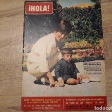 Coleccionismo de Revista Hola: HOLA 964,FEBRERO 1963.FARAH,ROMY SCHNEIDER,KENNEDY,MISS NACIONES UNIDAS ETC... Lote 184639820