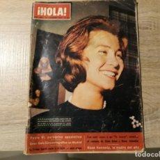 Coleccionismo de Revista Hola: HOLA 1009, DICIEMBRE 1963.LA REINA SOFÍA,PABLO VI.ETC... Lote 184654178
