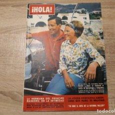 Coleccionismo de Revista Hola: HOLA 1093,AGOSTO 1965..RAINIERO,REYES DE HOLANDA ETC.. Lote 184655932
