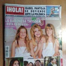 Coleccionismo de Revista Hola: REVISTA HOLA N 3815 BARONESA THYSSEN SEPTIEMBRE 2017. Lote 184709196