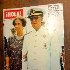 Coleccionismo de Revista Hola: EL CAUDILLO HA MUERTO REVISTA HOLA 29 NOVIEMBRE 1975. Lote 186175400