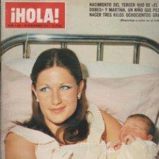 Coleccionismo de Revista Hola: HOLA Nº 1630 -- 22 NOVIEMBRE 1975. Lote 186177248