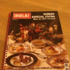 Coleccionismo de Revista Hola: REVISTA HOLA ESPECIAL COCINA ,2001. Lote 186457911