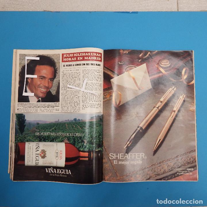 Coleccionismo de Revista Hola: REVISTA HOLA - 1981 - ISABEL PREYSLER - TAMARA - CARLOS FALCO - JULIO IGLESIAS - GRIÑON - KENNEDY - Foto 8 - 37683005