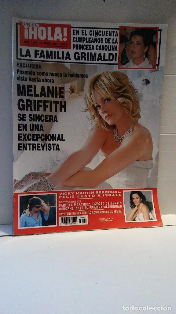 29853 - REVISTA HOLA - Nº 3261 - EN PORTADA MELANIE GRIFFIT (Coleccionismo - Revistas y Periódicos Modernos (a partir de 1.940) - Revista Hola)