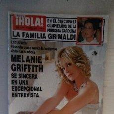 Collectionnisme de Magazine Hola: 29853 - REVISTA HOLA - Nº 3261 - EN PORTADA MELANIE GRIFFIT. Lote 189238325