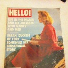 Coleccionismo de Revista Hola: HELLO ! - NOVEMBER 1996 - EN INGLÉS. Lote 190597520