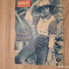 Coleccionismo de Revista Hola: HOLA 827.AÑO 1960.GINA.SORAYA.SHA DE PERSIA.. Lote 208401147