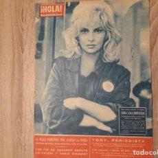 Coleccionismo de Revista Hola: HOLA 907 AÑO 1962.GINA.J.KENNEDY.FRANCO ETC... Lote 191005088