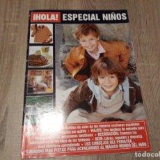 Coleccionismo de Revista Hola: HOLA, ESPECIAL NIÑOS.JUGUETES, MODA,COCINA,ETC. Lote 191006188