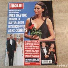 Coleccionismo de Revista Hola: HOLA 3293.PRINCIPES DE ASTURIAS,G.CLOONEY.EUGENIA MARTINEZ DE.IRUJO. ETC. Lote 191007033