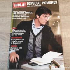 Coleccionismo de Revista Hola: HOLA ESPECIAL MODA HOMBRES.2008,2009.MODA, DECORACION,COCINA ETC... Lote 191007687