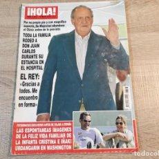 Coleccionismo de Revista Hola: HOLA 3.433, EL REY,LETIZIA , ISABEL PANTOJA ETC... Lote 191009671