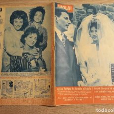 Coleccionismo de Revista Hola: HOLA NUM. 908, AÑO 1962.FRANK SINATRA,SABOYA,FARAH DIVA ETC.. Lote 191014262