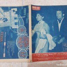 Coleccionismo de Revista Hola: HOLA 938,AÑO 1962,JACQUELINE KENNEDY,MARILYN MONROE, ISABEL DE INGLATERRA ETC. Lote 191014765