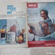 Coleccionismo de Revista Hola: HOLA 985, AÑO 1963,LA BEGUM,SORAYA,J.KENNEDY ETC... Lote 191015662