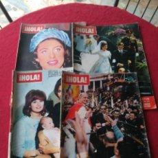 Coleccionismo de Revista Hola: CUATRO REVISTAS DE HOLA AÑO 1967. Lote 191482875
