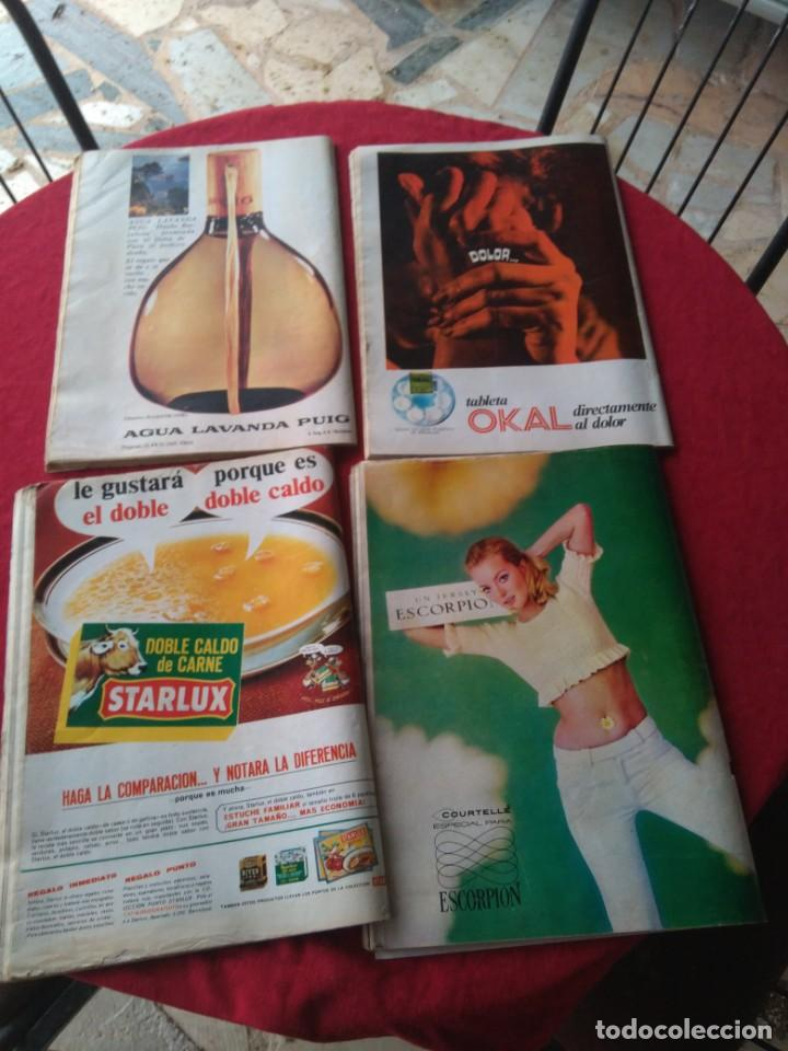 Coleccionismo de Revista Hola: CUATRO REVISTAS DE HOLA AÑO 1967 - Foto 2 - 191482875