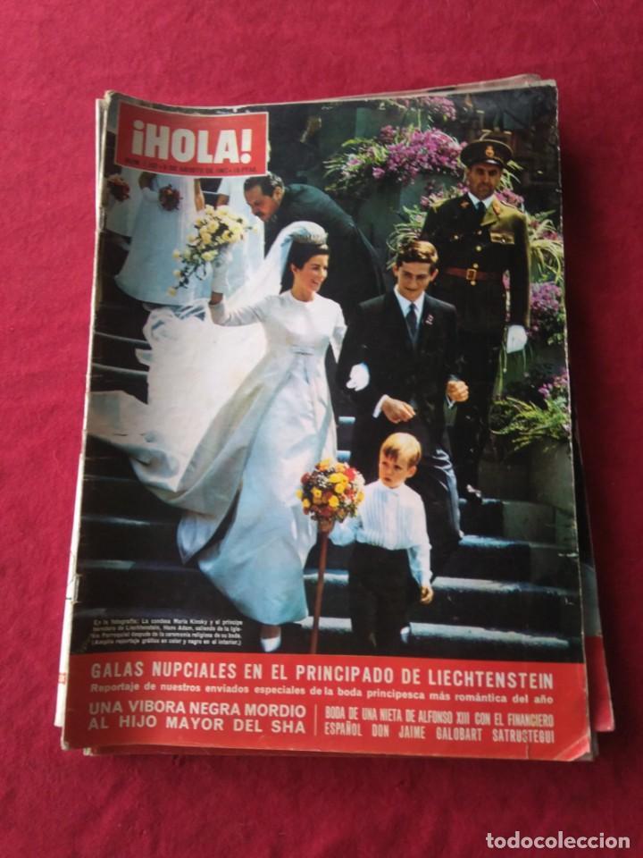 Coleccionismo de Revista Hola: CUATRO REVISTAS DE HOLA AÑO 1967 - Foto 3 - 191482875