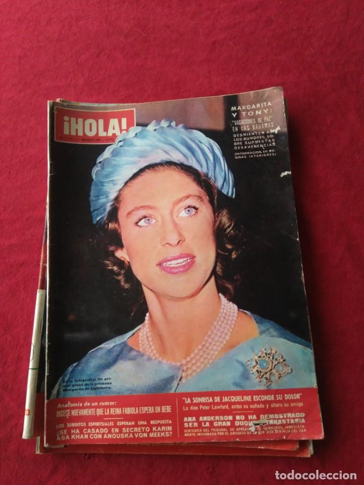 Coleccionismo de Revista Hola: CUATRO REVISTAS DE HOLA AÑO 1967 - Foto 4 - 191482875