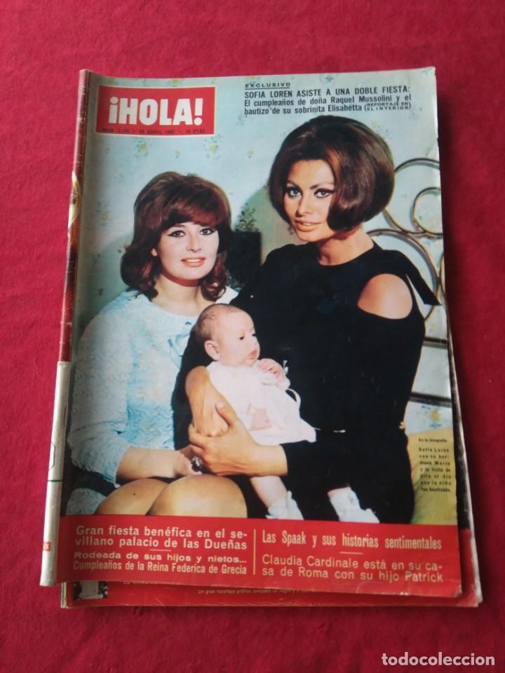 Coleccionismo de Revista Hola: CUATRO REVISTAS DE HOLA AÑO 1967 - Foto 5 - 191482875