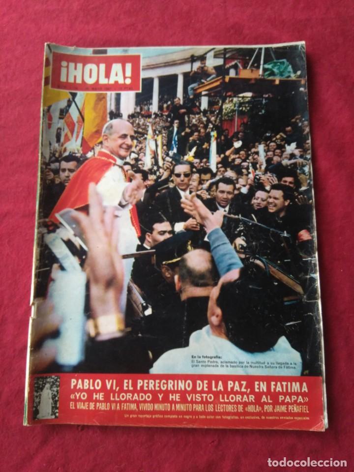 Coleccionismo de Revista Hola: CUATRO REVISTAS DE HOLA AÑO 1967 - Foto 6 - 191482875