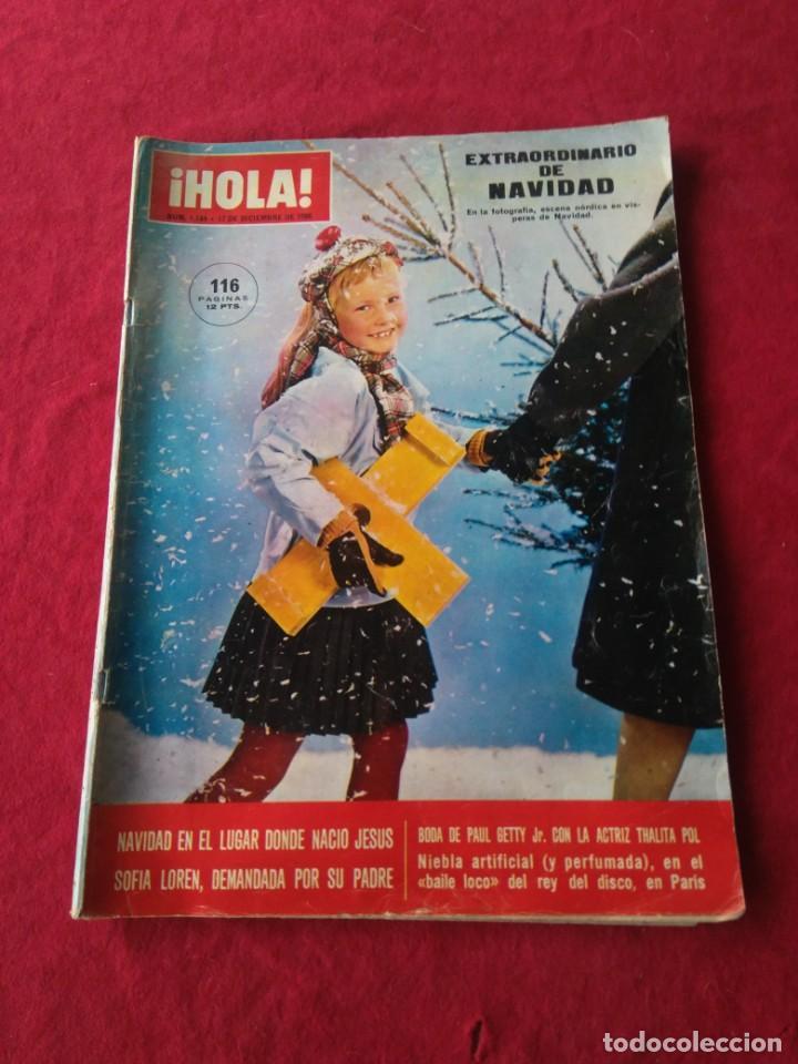 REVISTA HOLA N° 1164 DICIEMBRE DE 1966 EXTRAORDINARIO DE NAVIDAD. (Coleccionismo - Revistas y Periódicos Modernos (a partir de 1.940) - Revista Hola)