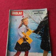 Coleccionismo de Revista Hola: REVISTA HOLA N° 1164 DICIEMBRE DE 1966 EXTRAORDINARIO DE NAVIDAD.. Lote 191484030
