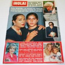 Coleccionismo de Revista Hola: HOLA NÚM. 2509 - 10 SETEMBRE 1992 - SARA MONTIEL - EMMA SAMZ - SHARON STONE - Y MÁS!!. Lote 191496451