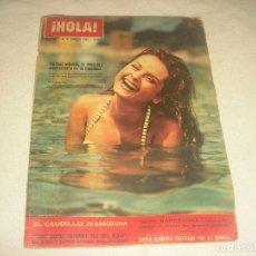 Coleccionismo de Revista Hola: HOLA N. 982 , JUNIO 1963 . EN PORTADA SOLEDAD MIRANDA , PROBABLE AMOR SECRETO DEL CORDOBES.. Lote 191555068