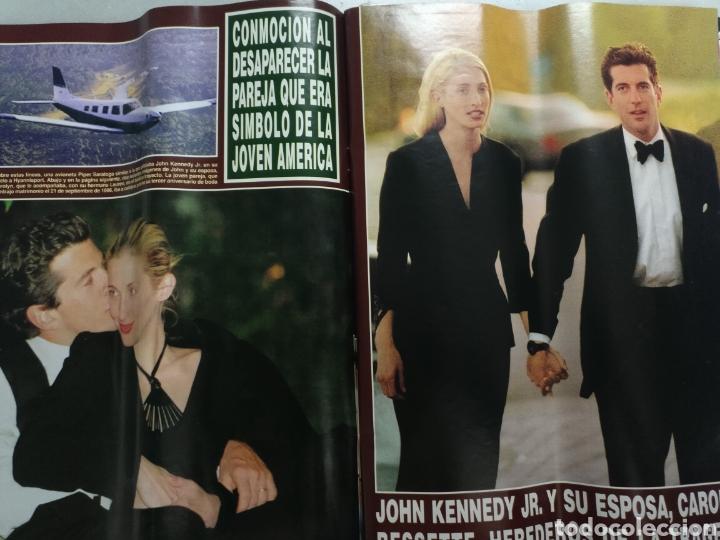 Coleccionismo de Revista Hola: Revista Hola num 2868 de 29 julio 1999 John Kenndy jr - Foto 2 - 191916676