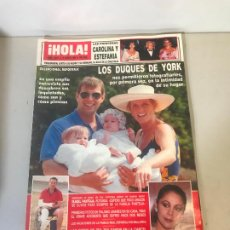 Coleccionismo de Revista Hola: ANTIGUA REVISTA HOLA. Lote 192144112