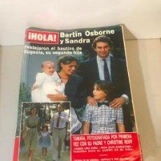 Coleccionismo de Revista Hola: ANTIGUA REVISTA HOLA. Lote 192144167